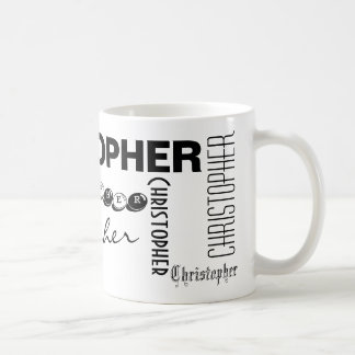 CHRISTOPHER - personalize a caneca