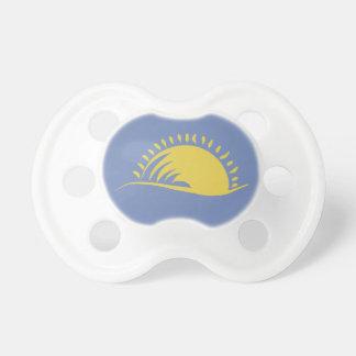 Chupeta 0-6 de BooginHead meses de Pacifier da luz do sol