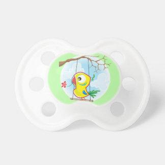 Chupeta 0-6 meses de Pacifier de BooginHead® com papagaio