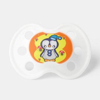 Chupeta 0-6 meses de Pacifier de BooginHead® com pinguim