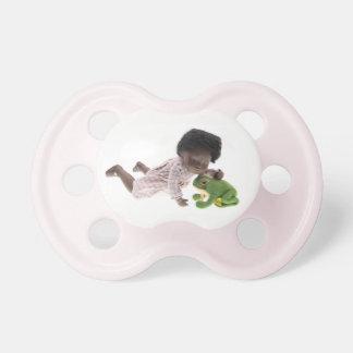 Chupeta 519 Sasha Cara Black bebé Nuggi