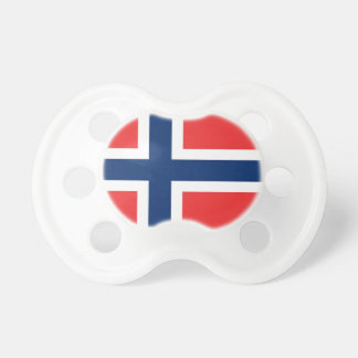 Chupeta A bandeira de Noruega - Escandinávia
