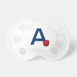 Chupeta A é para a aprendizagem da letra do ABC do