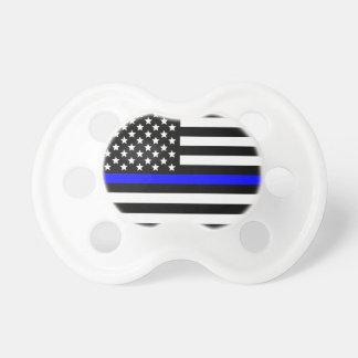 Chupeta A polícia dilui o apoio de Blue Line