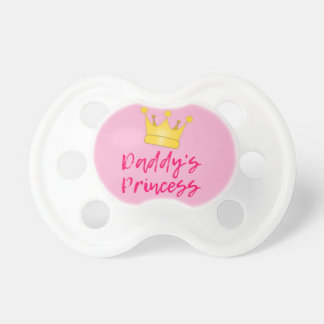Chupeta A princesa Bebê Pacifier do pai