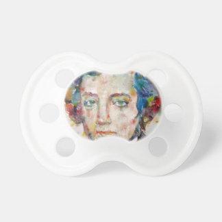 Chupeta Alexis de tocqueville - retrato da aguarela
