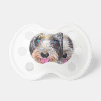 Chupeta amendoim o cão do salvamento