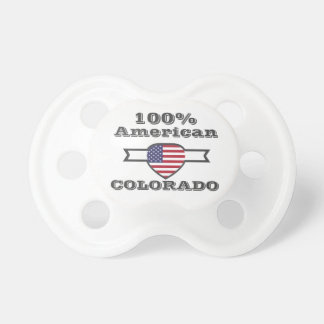 Chupeta Americano de 100%, Colorado