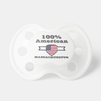 Chupeta Americano de 100%, Massachusetts