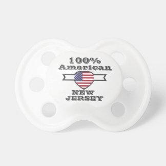 Chupeta Americano de 100%, New-jersey