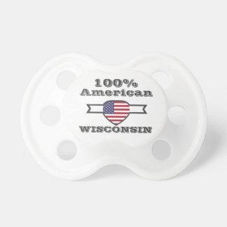 Chupeta Americano de 100%, Wisconsin