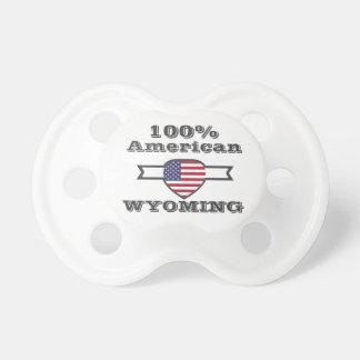 Chupeta Americano de 100%, Wyoming