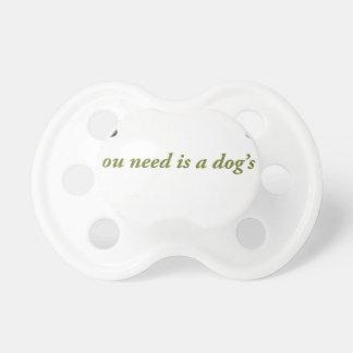 Chupeta Amor dos cães