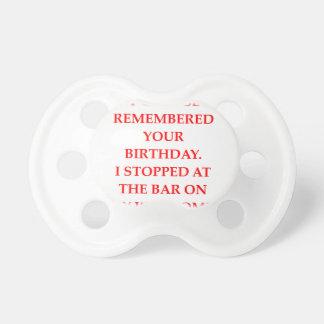 Chupeta aniversário