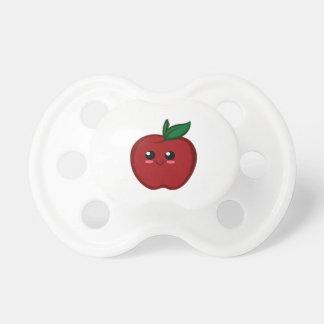 Chupeta Apple vermelho bonito
