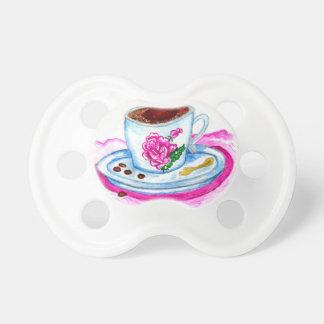 Chupeta Arte da chávena de café