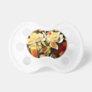 Chupeta Arte moderna floral