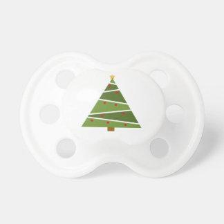 Chupeta Árvore de Natal simples mas bonita