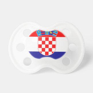 Chupeta Baixo custo! Bandeira croata