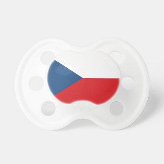 Chupeta Baixo custo! Bandeira da república checa