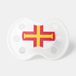 Chupeta Baixo custo! Bandeira de Guernsey