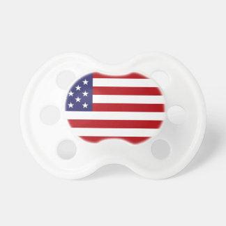 Chupeta Bandeira americana - bandeira dos Estados Unidos -