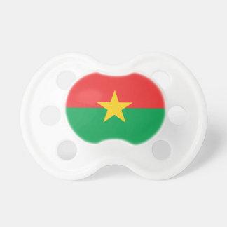Chupeta Bandeira de Burkina Faso - Drapeau du Burkina Faso