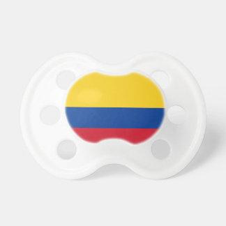 Chupeta Bandeira de Colômbia