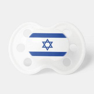 Chupeta Bandeira de Israelian do pacifier do bebê de