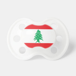 Chupeta Bandeira de Líbano