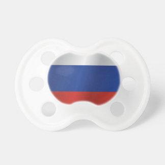 Chupeta Bandeira de Rússia