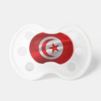 Chupeta Bandeira de Tunísia