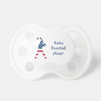 Chupeta Bandeira do americano do basebol de América