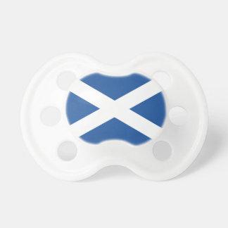 Chupeta Bandeira escocesa de Scot; e pacifier feito sob
