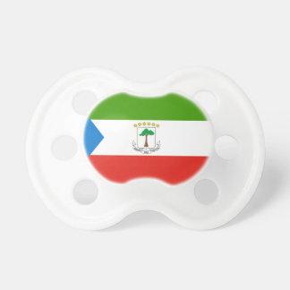 Chupeta Bandeira nacional do mundo da Guiné Equatorial