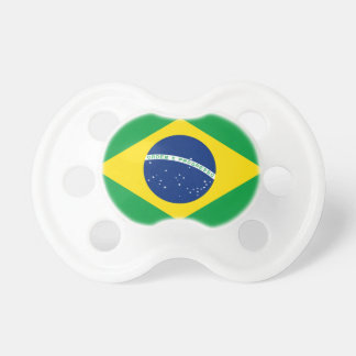 Chupeta Bandeira nacional do mundo de Brasil