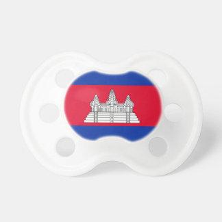 Chupeta Bandeira nacional do mundo de Cambodia