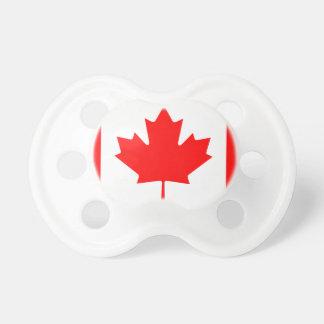 Chupeta Bandeira nacional do mundo de Canadá