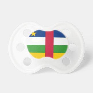Chupeta Bandeira nacional do mundo de Central African