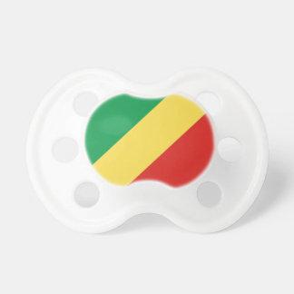 Chupeta Bandeira nacional do mundo de Congo