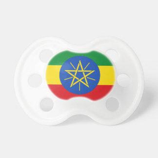 Chupeta Bandeira nacional do mundo de Etiópia