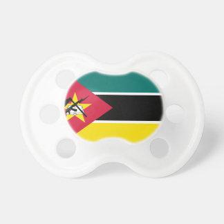 Chupeta Bandeira nacional do mundo de Mozambique