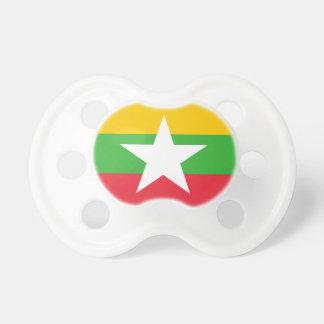 Chupeta Bandeira nacional do mundo de Myanmar