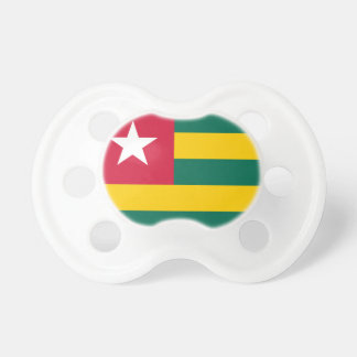 Chupeta Bandeira nacional do mundo de Togo