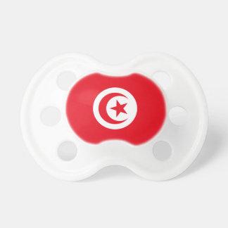 Chupeta Bandeira nacional do mundo de Tunísia
