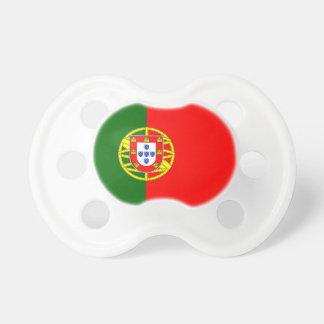 Chupeta Bandeira portuguesa do pacifier feito sob