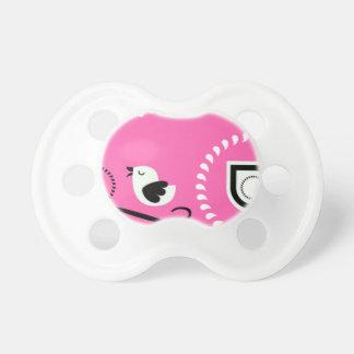 Chupeta Bebê cor-de-rosa Paci de Paisley com design do