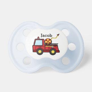 Chupeta Bebê do carro de bombeiros