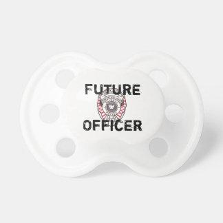 Chupeta Bebê futuro Paci do departamento da polícia de