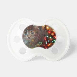 Chupeta Boas festas do gatinho